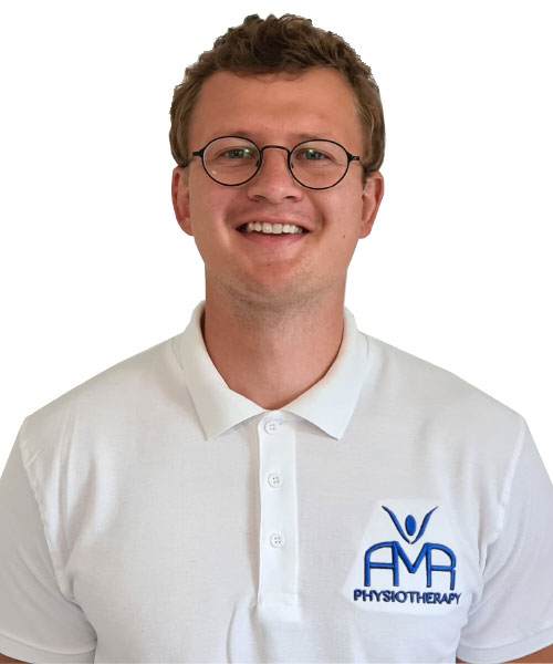 Physiotherapist Martynas Zilinskas